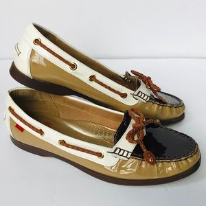 MARC JOSEPH Liberty Patent Leather Loafer Shoes 10